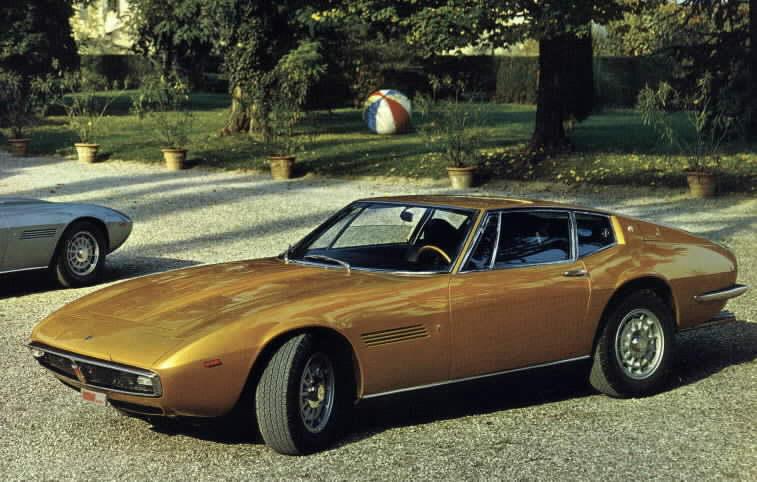 Photo Maserati Ghibli I Type 115 4 7 V8 Coup 233 1970