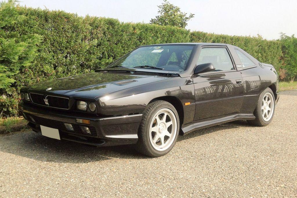 photo MASERATI SHAMAL V8 3.2 coupé 1991 - Motorlegend.com