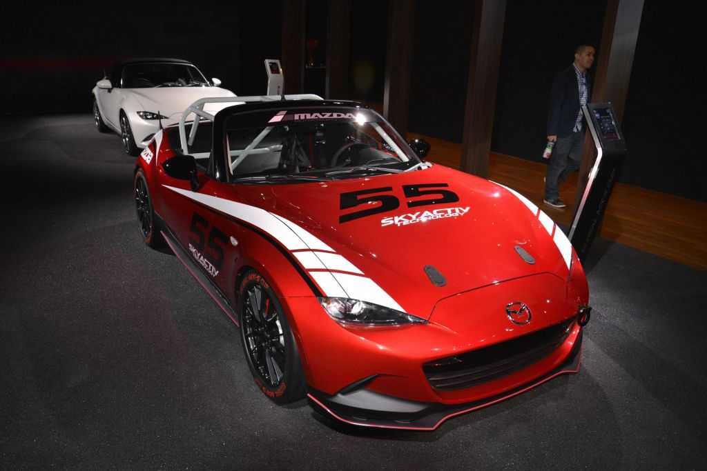 MAZDA MX-5 (ND) Cup Concept concept-car 2014