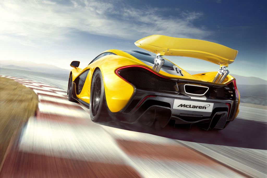 MCLAREN P1 V8 3.8 bi-turbo coupé 2013