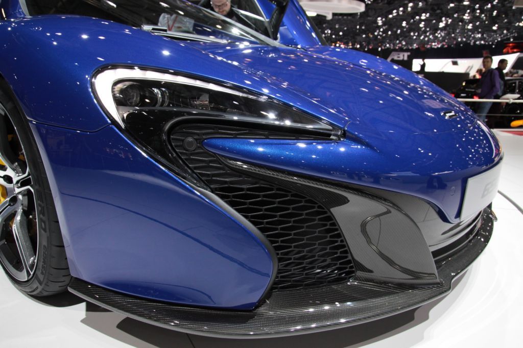 MCLAREN P1 V8 3.8 bi-turbo coupé 2014