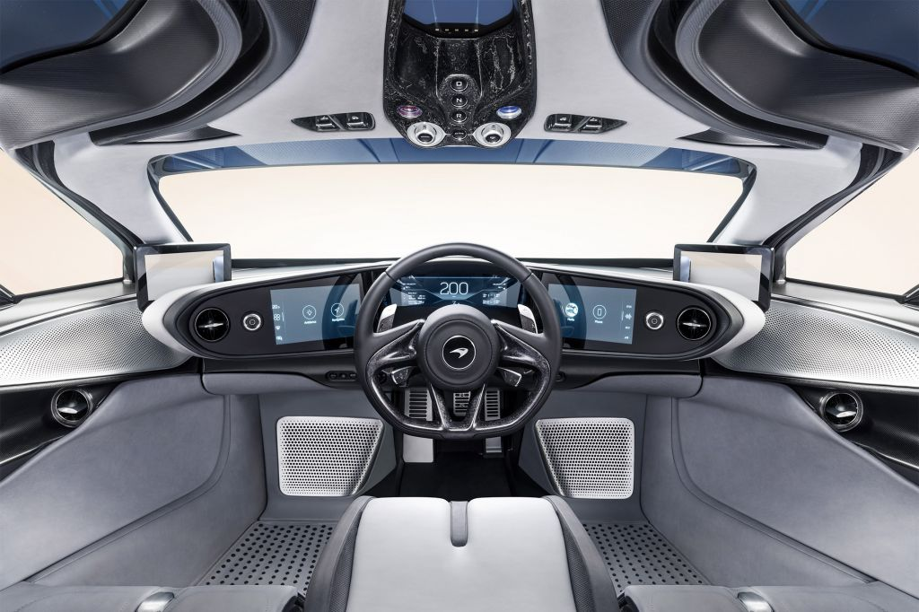 MCLAREN SPEEDTAIL  coupé 2018
