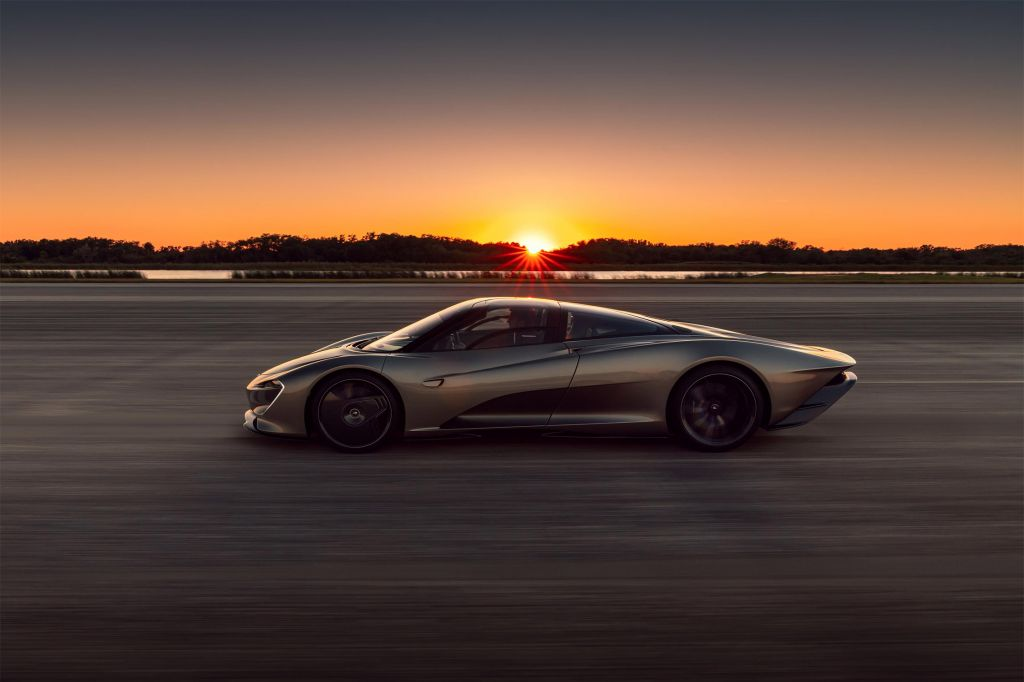 MCLAREN SPEEDTAIL  coupé 2019