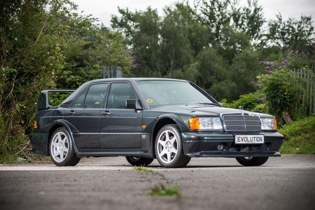MERCEDES 190 (W201) E 2.5-16 Evolution II berline 1990