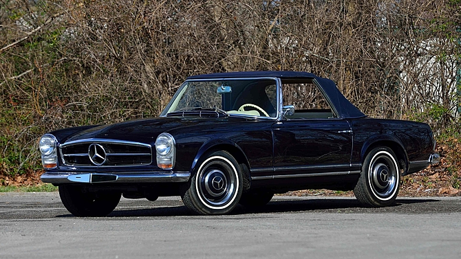 MERCEDES 230 SL (W113 - Pagode) cabriolet 1966