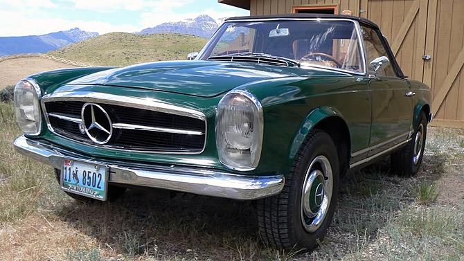 photo mercedes 230 sl w113 pagode cabriolet 1964. Black Bedroom Furniture Sets. Home Design Ideas