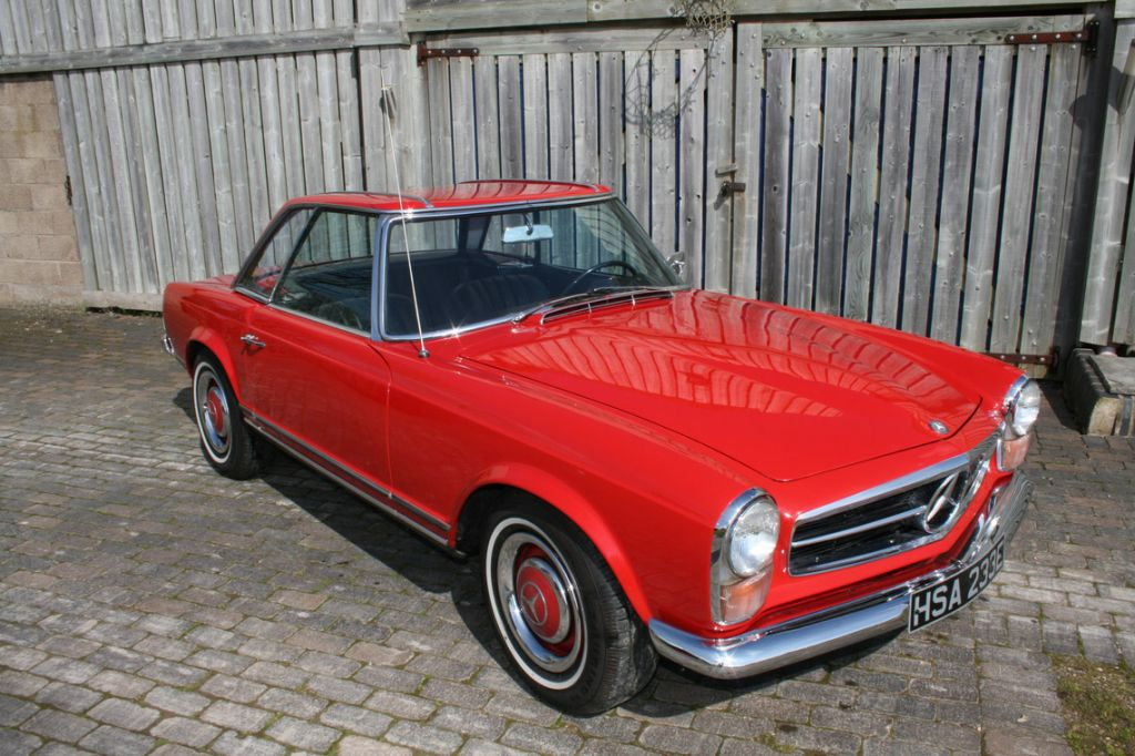 MERCEDES 230 SL (W113 - Pagode) cabriolet 1967