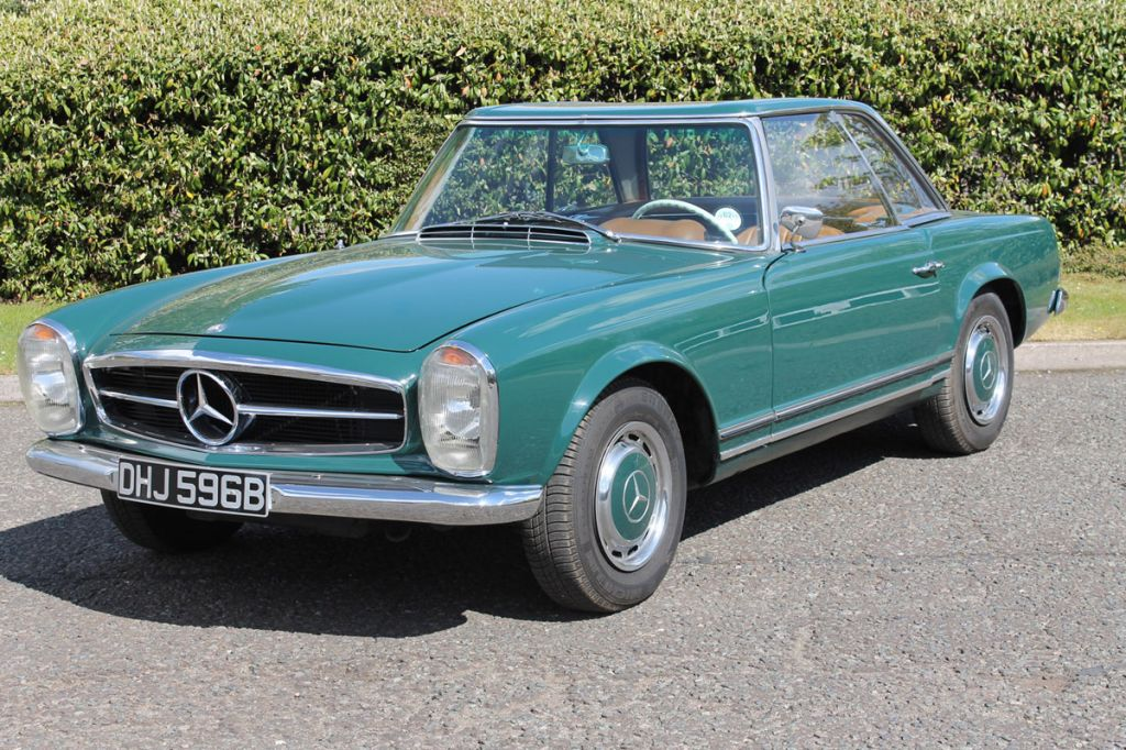 Photo Mercedes 230 Sl W113 Pagode Cabriolet 1964