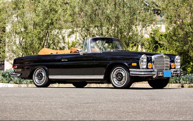 MERCEDES 280 (W111) SE cabriolet 3.5L Fintail cabriolet 1971