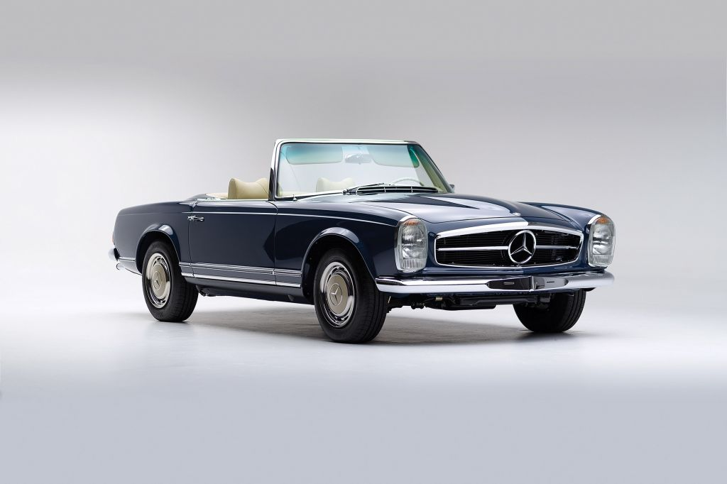 MERCEDES 280 (W113) SL Pagode cabriolet 1968