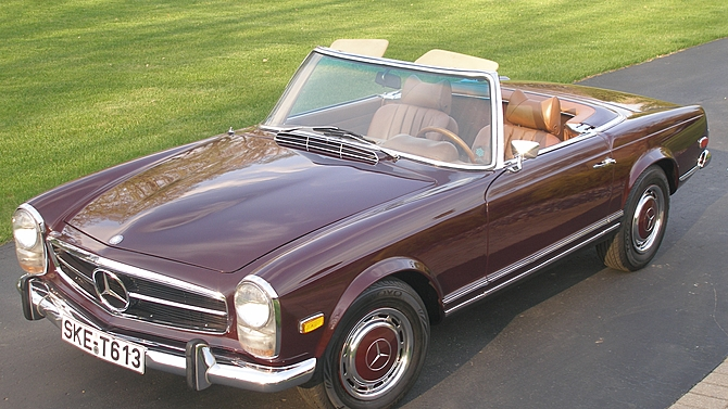 MERCEDES 280 (W113) SL Pagode cabriolet 1971