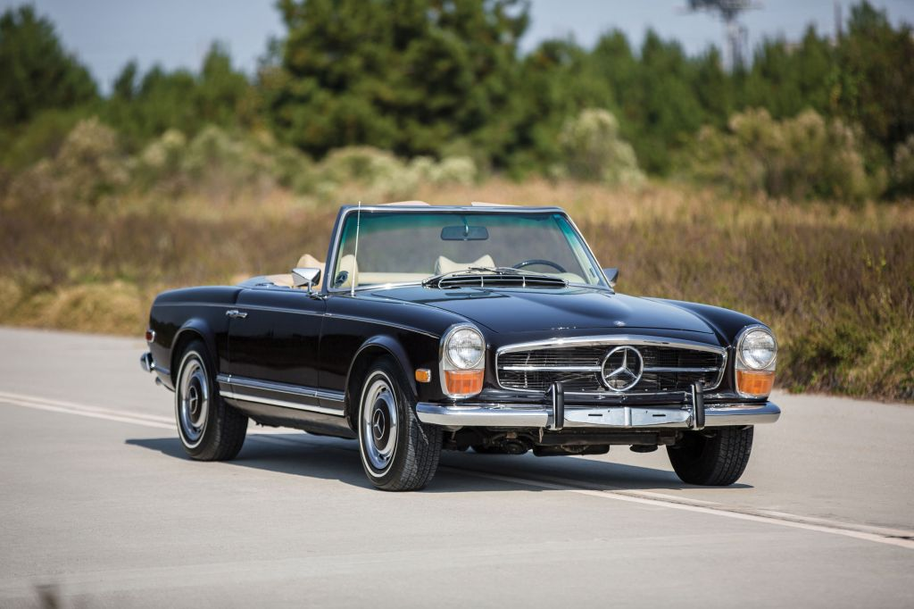 MERCEDES 280 (W113) SL Pagode cabriolet 1970