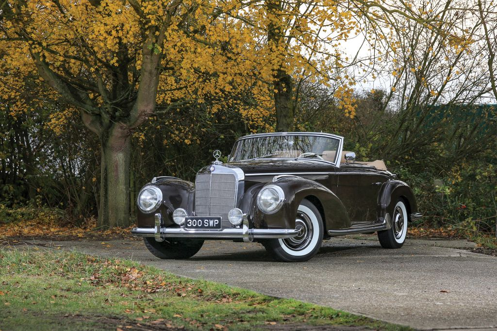 MERCEDES 300 S Roadster (W188) cabriolet 1954