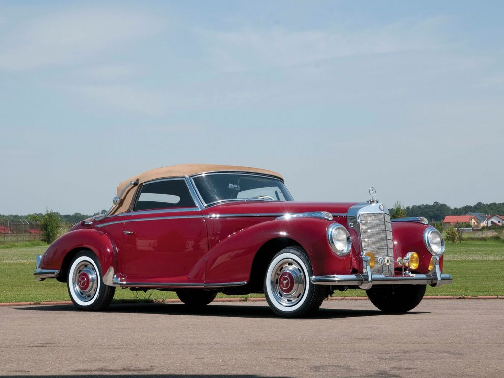 MERCEDES 300 SC (W188) cabriolet 1952