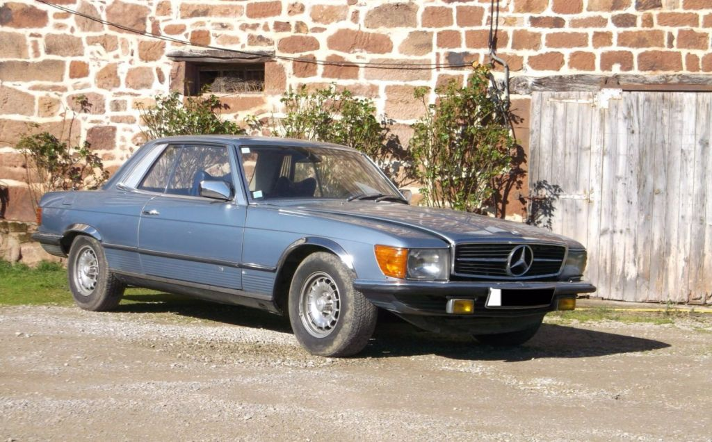 MERCEDES 350 SLC (C107) coupé 1976