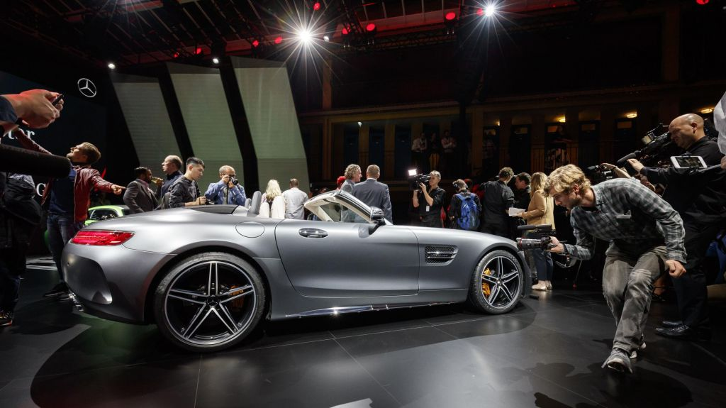 MERCEDES AMG GT (C190) C Roadster 557 ch cabriolet 2016
