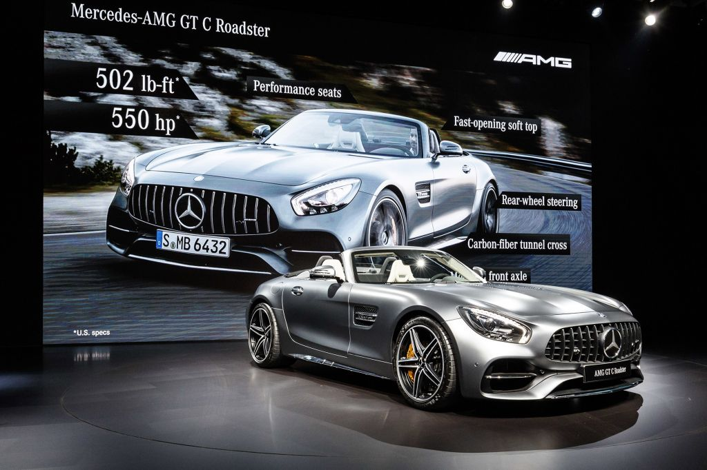Simple MercedesAMG GT C Roadster  Salon De Los Angeles 2016