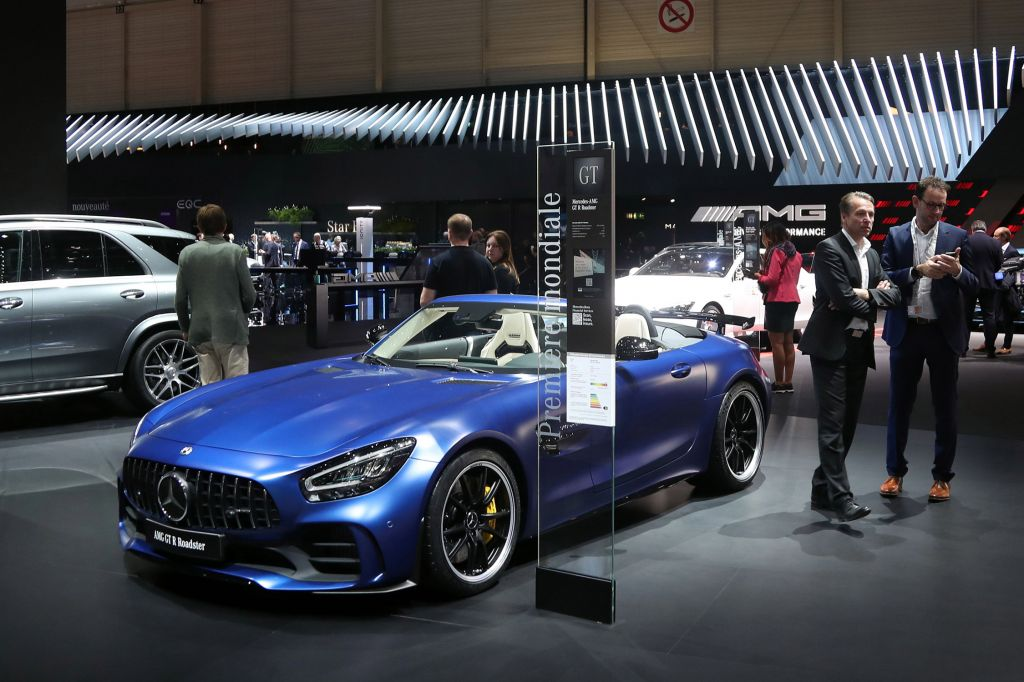 MERCEDES AMG GT (C190) R Roadster 585 ch cabriolet 2019