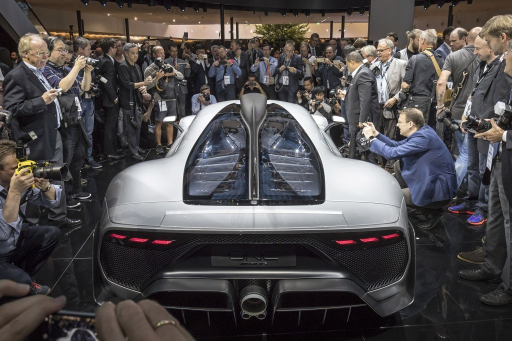 MERCEDES AMG ONE  coupé 2017