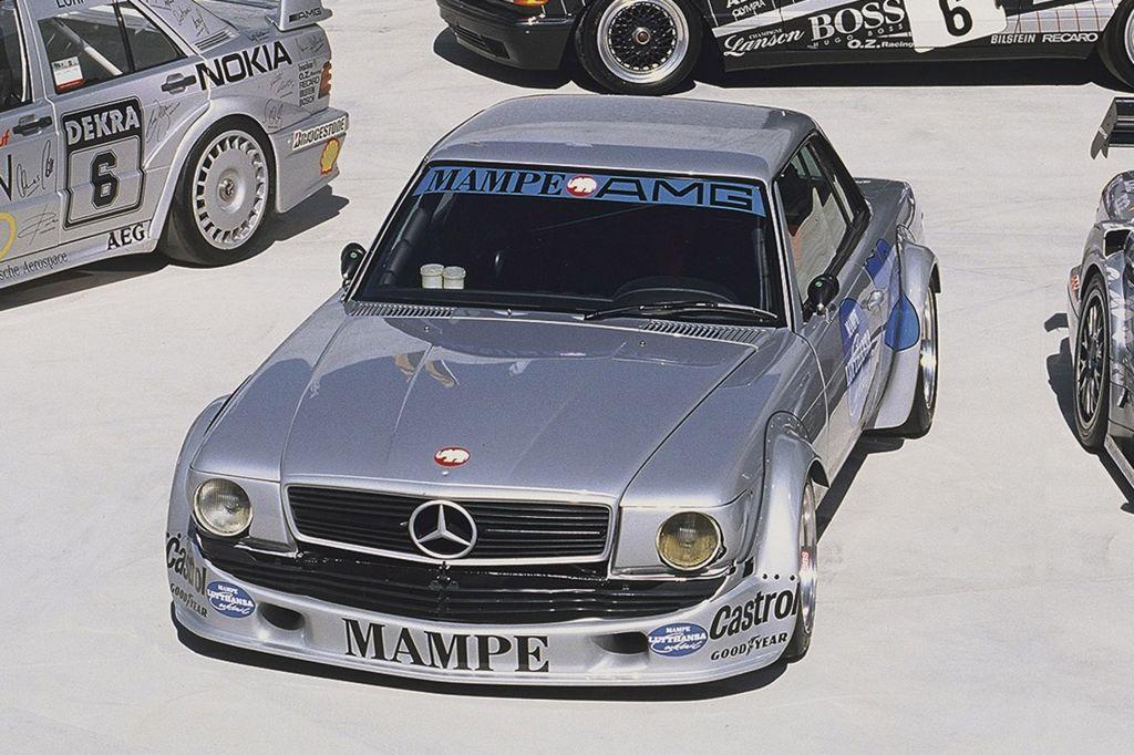 Mercedes 450 SLC AMG (1978) - Mercedes-AMG : 50 ans de performance ...