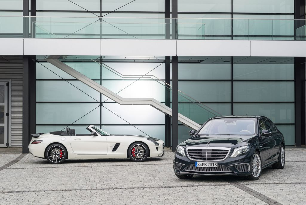 Mercedes SLS AMG GT Final Edition et S 65 AMG