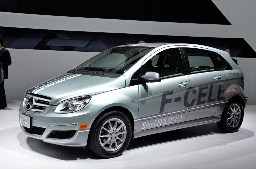 Mercedes Classe B Fuel Cell