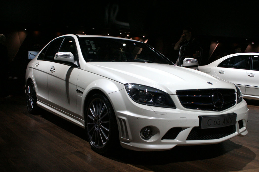 photo mercedes classe c berline w204 63 amg berline 2007. Black Bedroom Furniture Sets. Home Design Ideas
