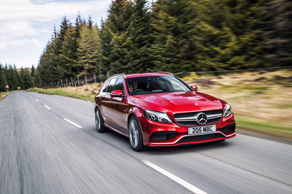 MERCEDES CLASSE C (Break S205) 63 AMG 476 ch break 2014