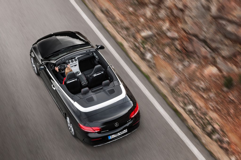 MERCEDES CLASSE C (Cabriolet A205) AMG 43 4Matic 367 ch cabriolet 2016