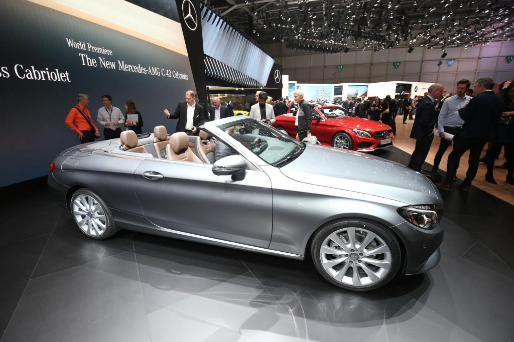 MERCEDES CLASSE C (Cabriolet A205)  cabriolet 2016