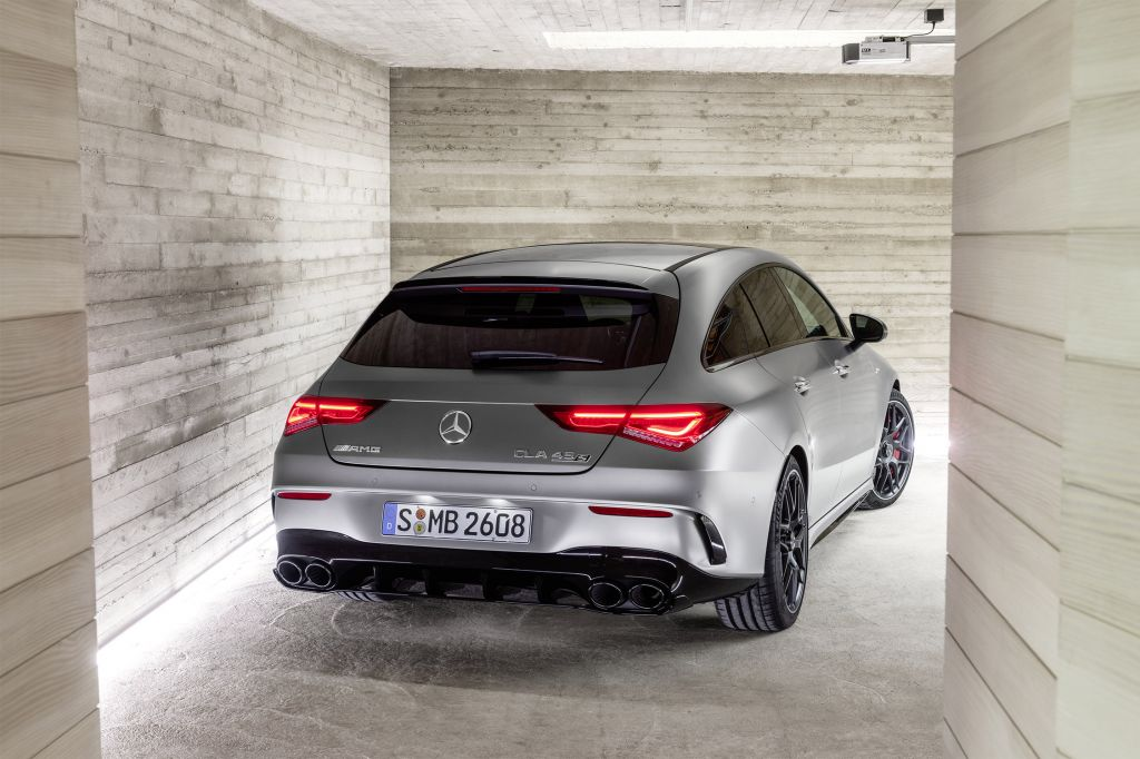 MERCEDES CLASSE CLA (Shooting Brake X118) 45 AMG S 4MATIC+ 421 ch break 2020