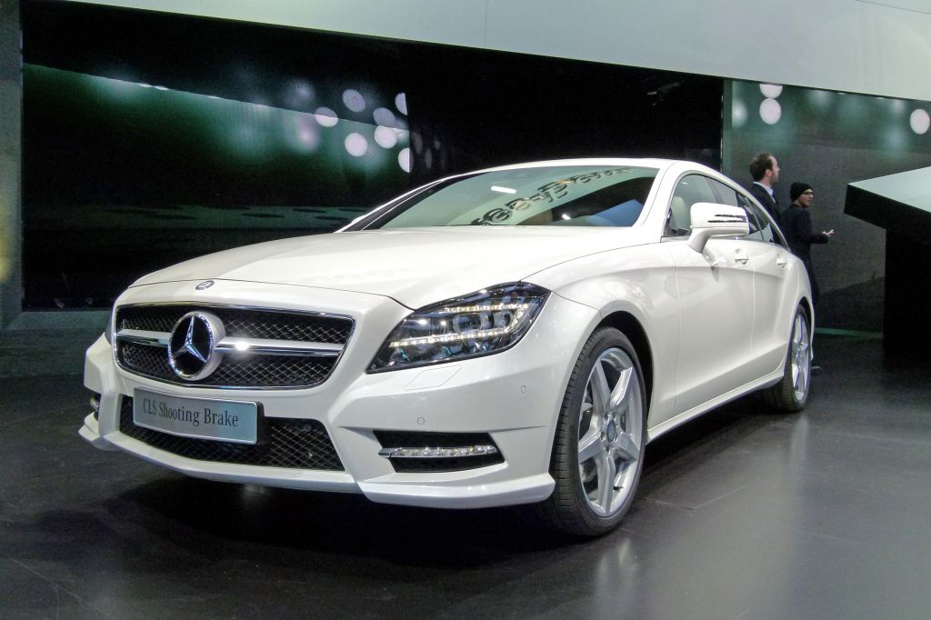 MERCEDES CLASSE CLS (Shooting Brake X218) 350 CDI BlueEfficiency break 2012