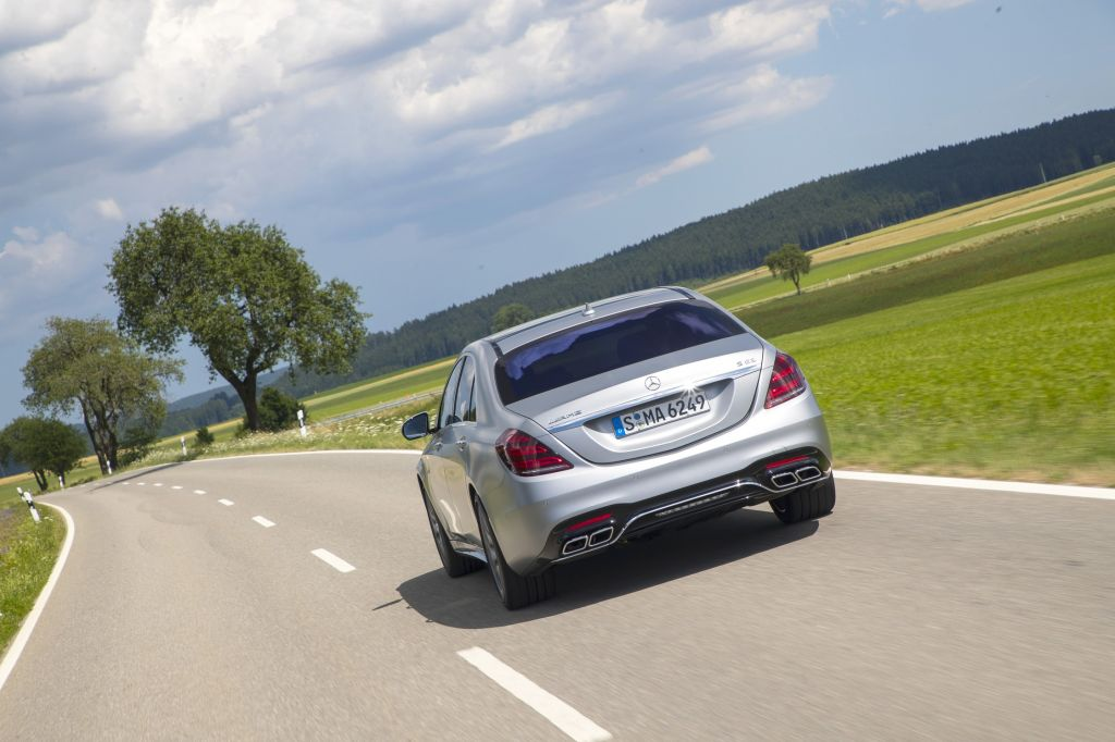 MERCEDES CLASSE S (Berline W222) 63 AMG 4Matic+ 612 ch berline 2017