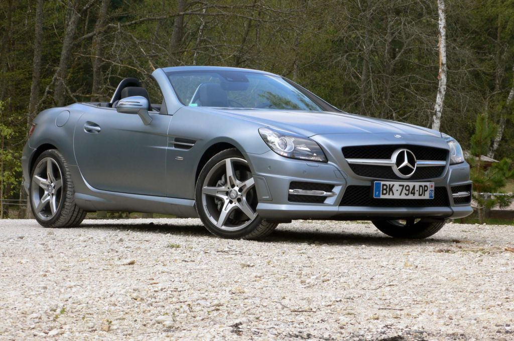 MERCEDES CLASSE SLK (R172) 350 K BlueEfficiency coupé-cabriolet 2011