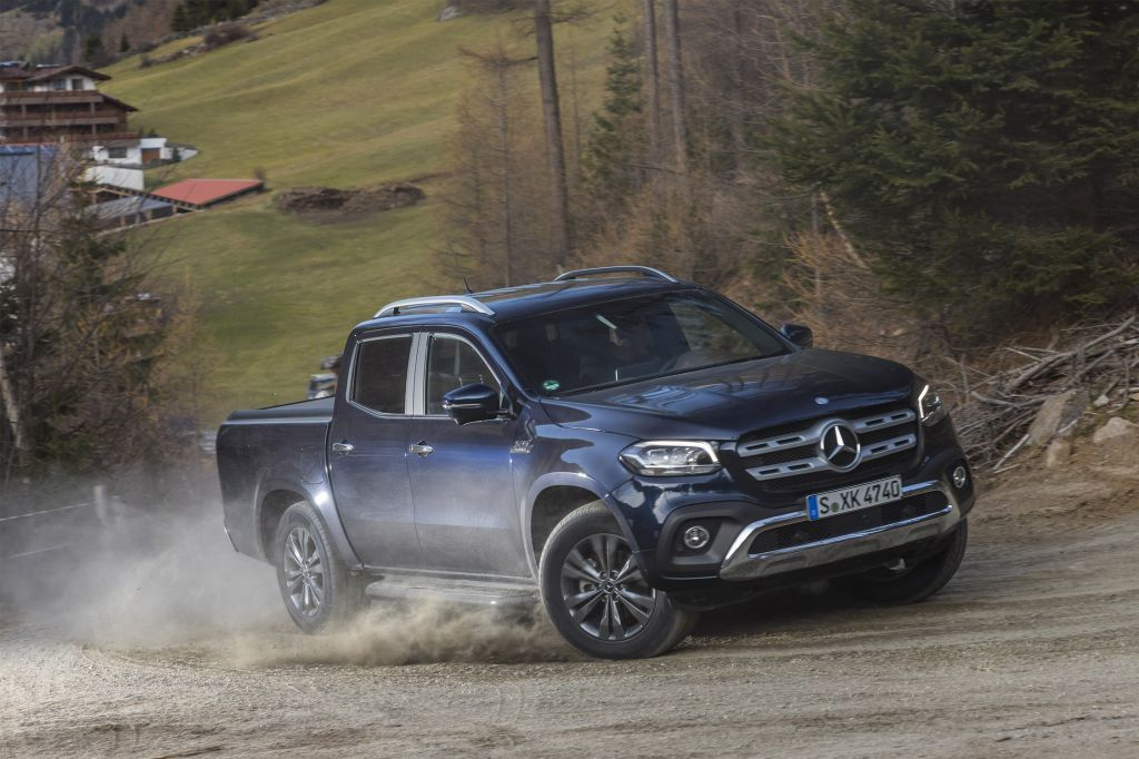 MERCEDES CLASSE X 350d 258 ch pick-up 2017