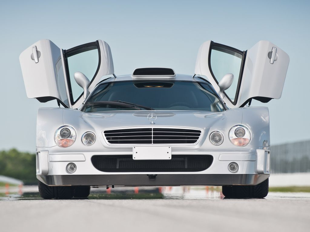 MERCEDES CLK GTR AMG Road version coupé 1997