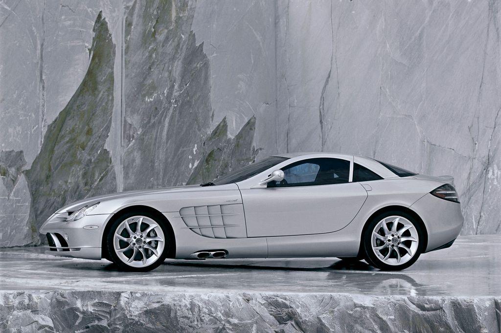 Photo Mercedes Slr Mclaren V8 Coup 233 Coup 233 2003