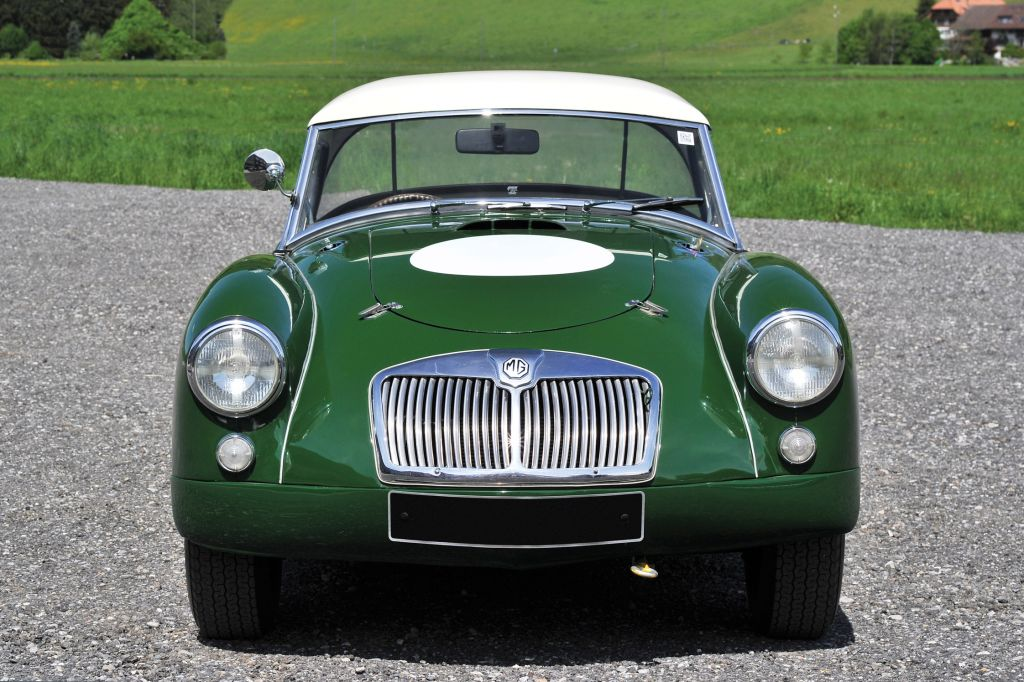 MG A 1600 MKI Twin Cam compétition 1959
