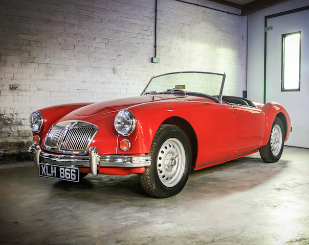 MG A 1600 MKI Twin Cam cabriolet 1959