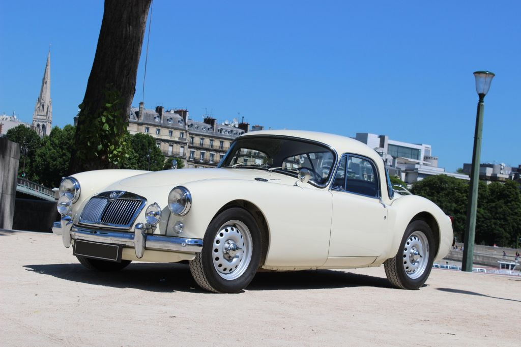 MG A 1600 MKI Twin Cam coupé 1959