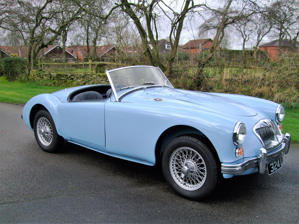 MG A 1600 MKII cabriolet 1961
