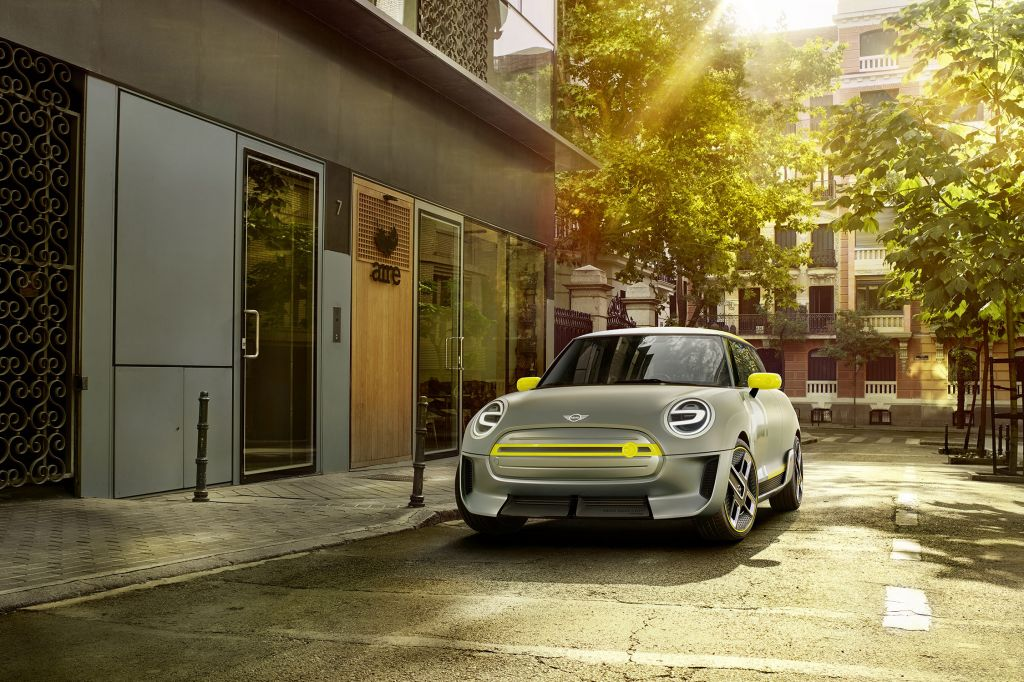 MINI ELECTRIC Concept concept-car 2017