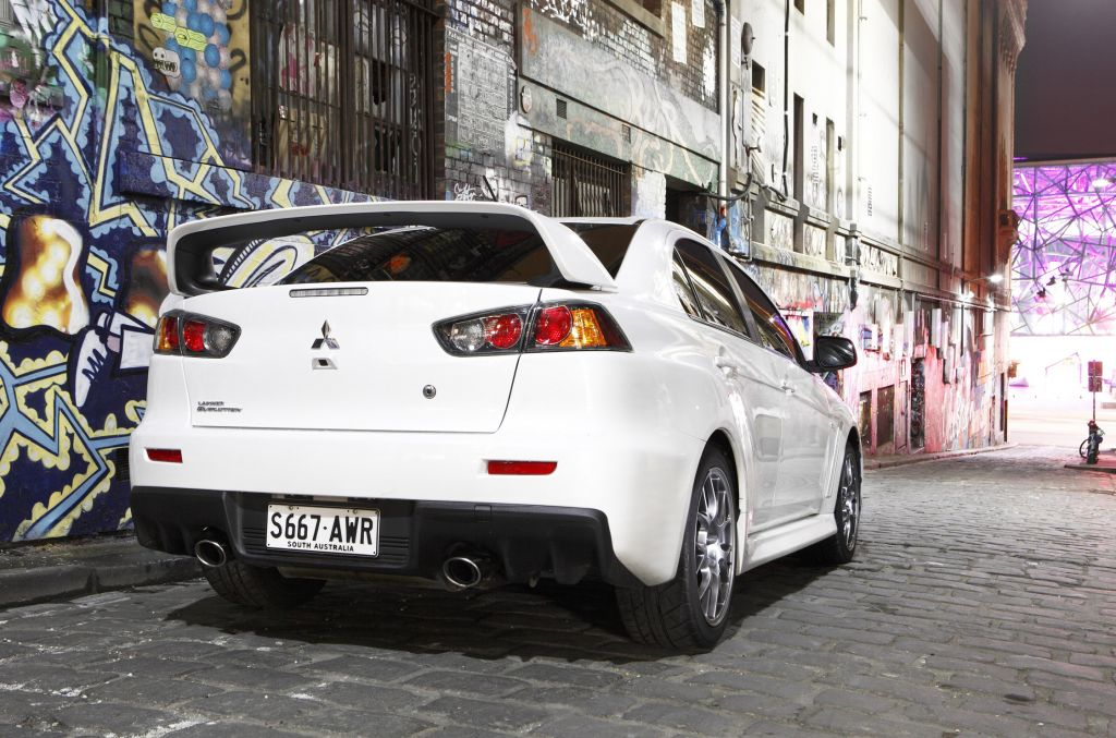 MITSUBISHI LANCER Evolution I berline 2008