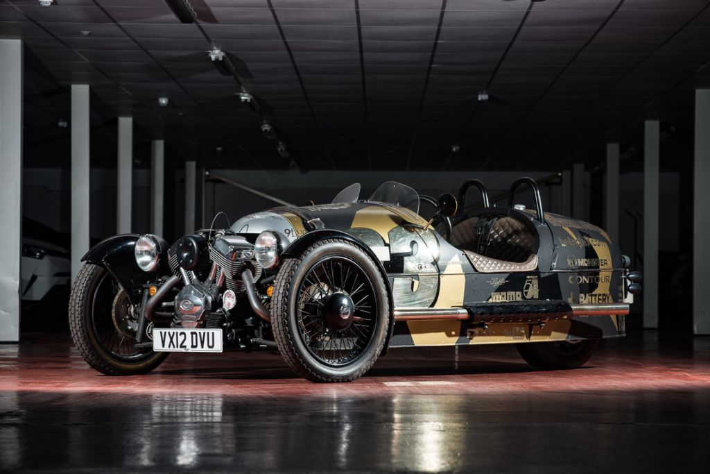 MORGAN THREE-WHEELER 115 ch cabriolet 2012