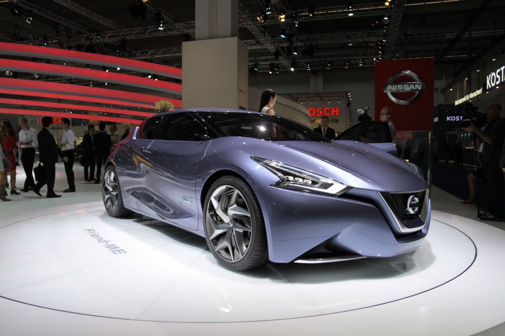 NISSAN FRIEND-ME Concept concept-car 2013