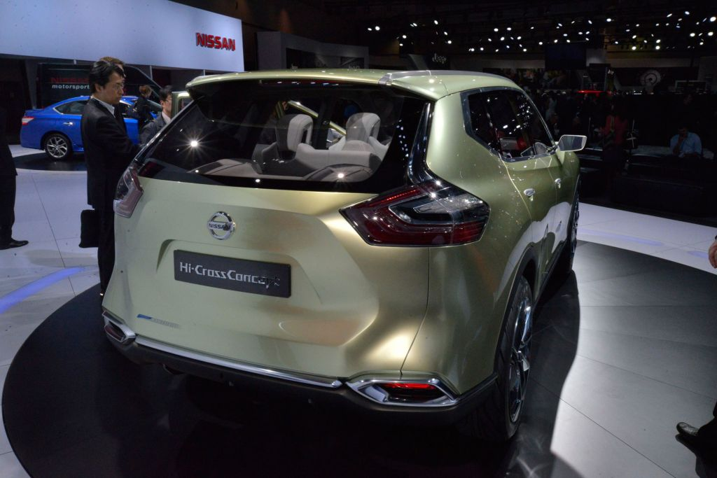 NISSAN HI-CROSS Concept concept-car 2012