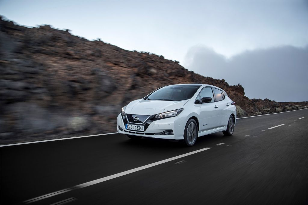 NISSAN LEAF (II) N-Connecta berline 2018