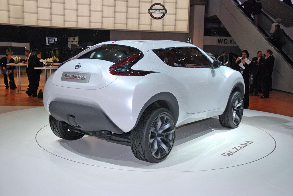 Photo Nissan Qazana Concept Concept Car 2009 Mdiatheque