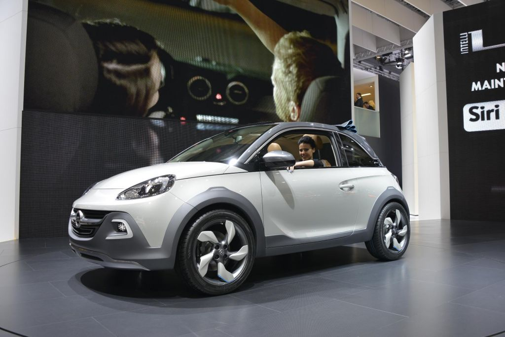 OPEL ADAM Rocks Concept concept-car 2013