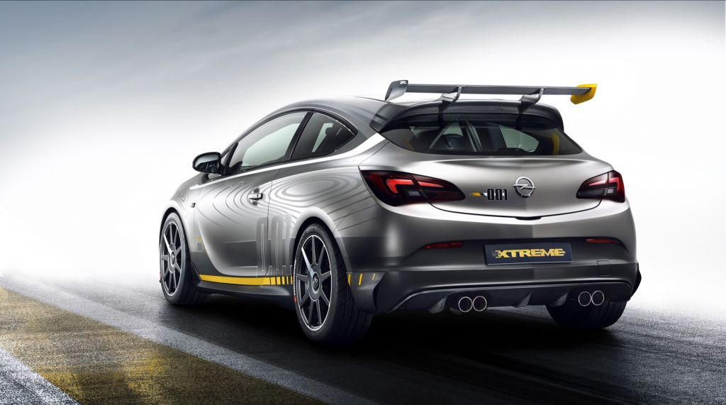 OPEL ASTRA (J) OPC Extreme concept-car 2014